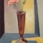 2008 Vase and Bud 25x 35 cm SOLD