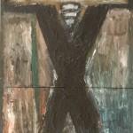 1986 Figure under a Cloud62 x 81 cm $4000