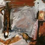 1985 Jonathan at the piano 1 130 x 150cm$4600