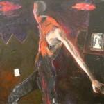 1985 Jonathan at the piano130 x 150cm$4600