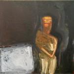 1986 Figure at rest160 x 140cm$4600