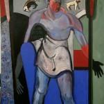 1989 Street man200 x 200cm$4600