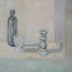2005 Candle stick right  24x 32 cm $650