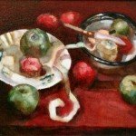 2006 The fruit bowl  2 45 x 50 cm SOLD