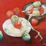 2006 The fruit bowl  1 45 x 50 cm SOLD