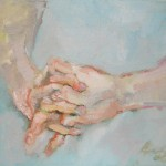 2005 Andrew's hands 30x35cm$600
