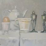 2008 Breakfast 30 x 21cm SOLD
