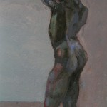 2008 Figure Contre jour30x35cmSOLD