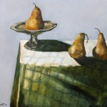 2011 Pears45 x 50 cm SOLD