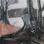 2011 Wannsee 340x40cm SOLD